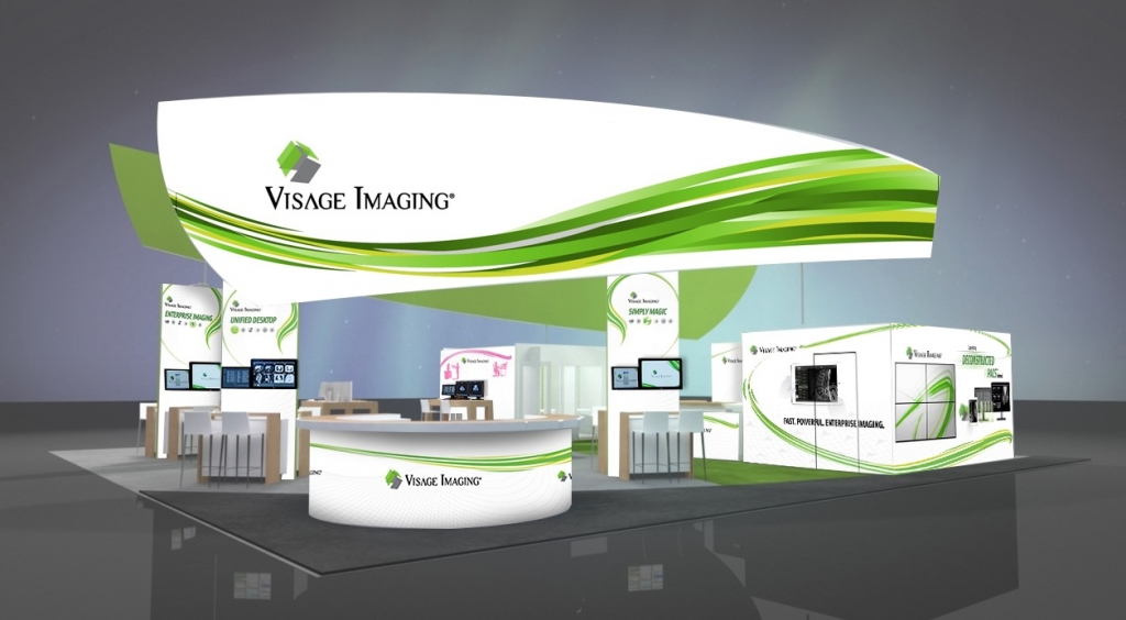 Visage Imaging 50' x 50' Booth #4365