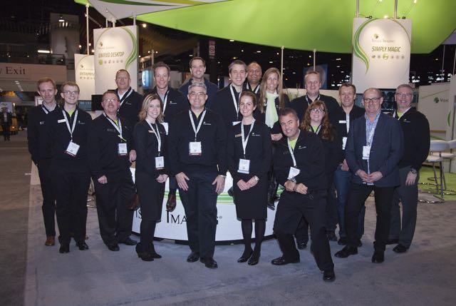 Visage's RSNA 2014 Team
